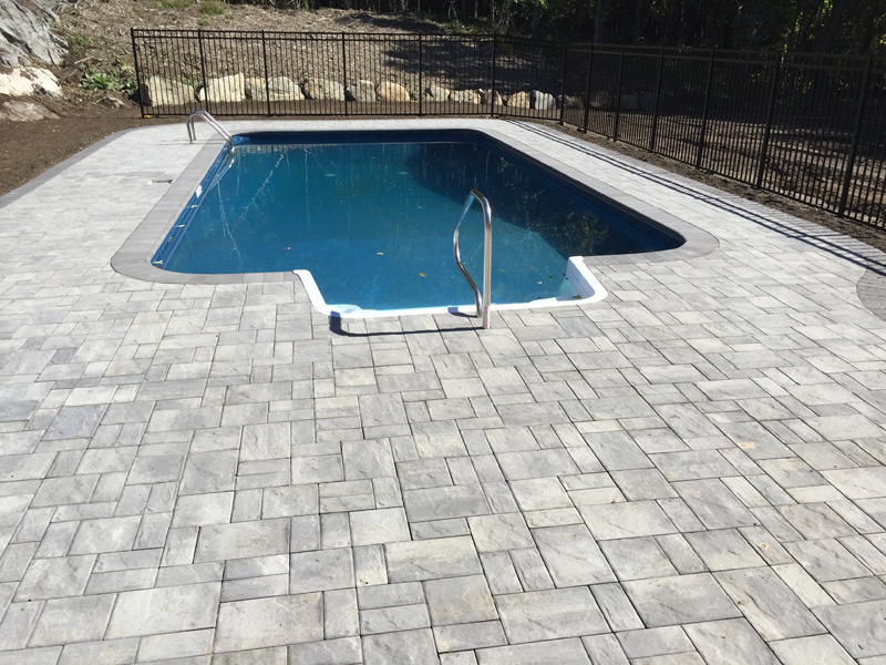 Pool and patio install