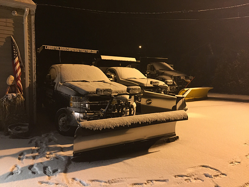 Some of our snow fleet